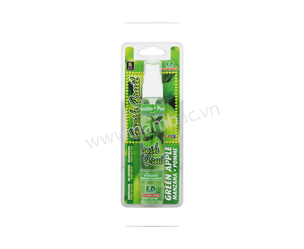 Nước thơm dạng xịt New Car/Fresh Fruit (60ml)